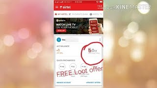 How To get 5gb FREE data on Airtel Number clean now.