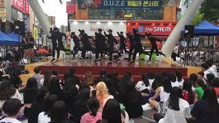 대구 댄스팀 오버페이트 세븐틴-울고싶지않아 (7월 15일 15차 게릴라 콘서트)