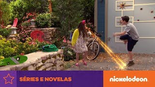 The Thundermans | Brincando com laser |  Brasil | Nickelodeon em Português