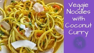 Veggie Noodles with Coconut Curry