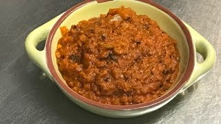 How To Make Ikra Dip