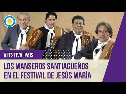 Los Manseros Santiagueños en el Festival de Jesús María 2016