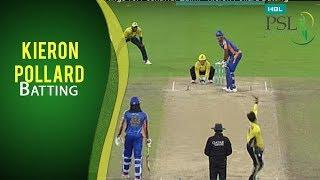 PSL 2017 Playoff 3: Karachi Kings vs. Peshawar Zalmi - Kieron Pollard Batting