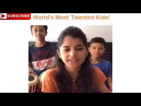 World's Most Talented Kids! Mere Rashke Qamar Tu Ne Pehli Nazar