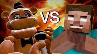 Freddy Fazbear vs Herobrine - Minecraft/GMOD Rap Battle