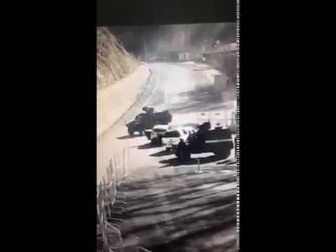 Tunceli'de Polis Noktasına Saldıran DHKP_C'linin Öldürülme anı