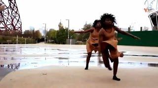 رقص افريقي مثير على ايقاع أغنية