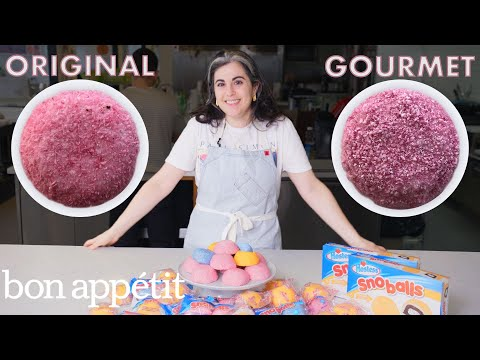 Xxx Mp4 Pastry Chef Attempts To Make Gourmet Sno Balls Gourmet Makes Bon Apptit 3gp Sex