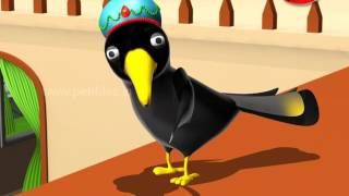 Panchatantra Tales Marathi Kids | Proud Clever Crow | पंचतंत्र मराठी गोष्टी | Moral Stories