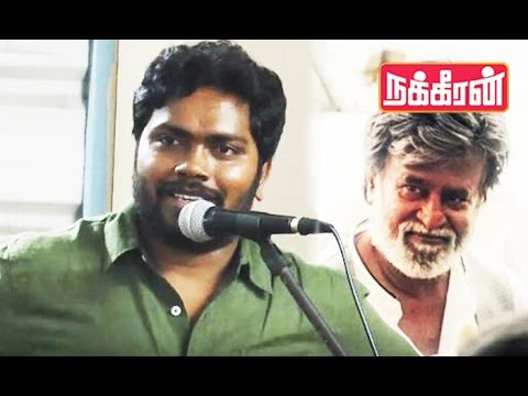 Pa Ranjith : I express my feelings through 'Rajinikanth' ! Kabali Exclusive