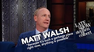 Matt Walsh Compares The Dysfunction Of Washington In
