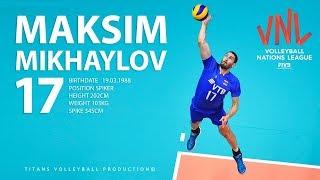 Maksim Mikhaylov The Best of FIVB VNL 2018