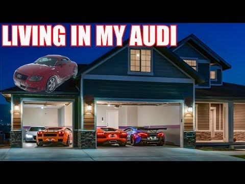 The Story of Living in my Car to Buying a Lamborghini Aventador