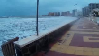 Fuerte oleaje por el temporal en el Levante español - @jipagan