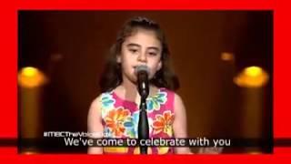 آهنگ زیبای دختر سوری و واکنش جالب نانسی عجرم