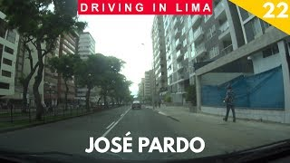 Avenida José Pardo y Ca. José Gálvez | Driving in Lima, Peru Ep. 22 (Miraflores)