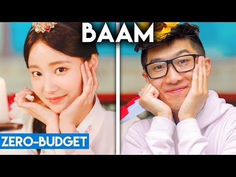 K-POP WITH ZERO BUDGET! (MOMOLAND- BAAM)