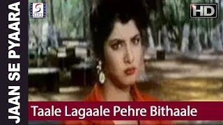 Taale Lagaale Pehre Bithaale - Amit Kumar, Sadhna Sargam - Jaan Se Pyaara - Govinda