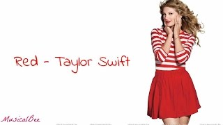 Red  Taylor Swift Lyrics