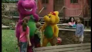 Selena Gomez and Demi Lovato on Barney