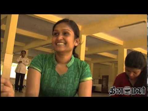 Chennai School Girl Kavya gets first with taking French as Language - dinamalar