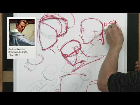 Xxx Mp4 NMA Art FREE SAMPLE How To Draw The Head Face Portrait With Steve Huston PART 1 3 HOURS 3gp Sex