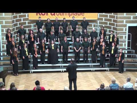 Vegyes kamarakórus versenykoncert a rigai Kórusolimpián (2014)