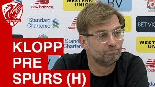 Jurgen Klopp Pre-Match Press Conference | Liverpool vs. Tottenham