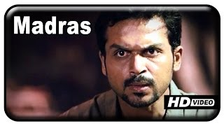 Madras Tamil Movie | HD | Full Fight Scenes | Karthi | Catherine Tresa | Kalaiyarasan