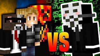 THREE YOUTUBERS vs ONE HACKER! | Minecraft MICRO BATTLES #50