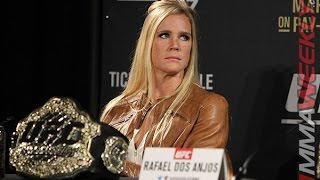 Holly Holm Doesn't Care if Ronda Rousey Returns or Not