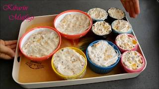 Dondurma tadında meyveli parfe tarifi - 5 dakikada hazır pratik pasta yapımı - Pasta tarifleri