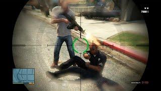 GTA 5 Funny/Brutal Kill Compilation Vol.45 (Franklin and Trevor Fight Grove Street/Gangs/Hood))