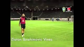 Zlatan Ibrahimovic vines : Zlatan has no weak foot