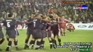 1998-1999 Uefa Cup: Atlético Madrid All Goals (Road to Semifinals)