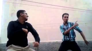 Pop-lock and crazy dance on ghazal