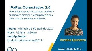 Conferencia virtual - PaPaz Conectados 2.0