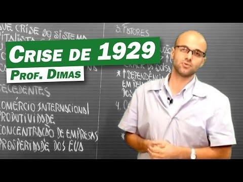 História Crise de 1929