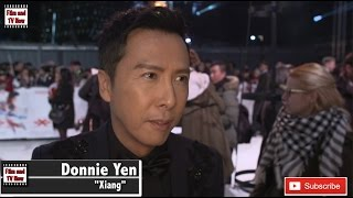 Donnie Yen xXx: Return of Xander Cage UK Premiere red carpet interview