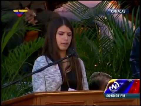 Rosinés Chávez palabras en el Cuartel de la Montaña a 2 años de la siembra de su padre
