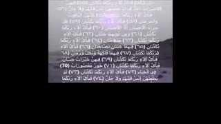 هاني الرفاعي سورة الرحمن تلاوة خاشعه