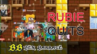 Growtopia - RUBIE QUITS GT