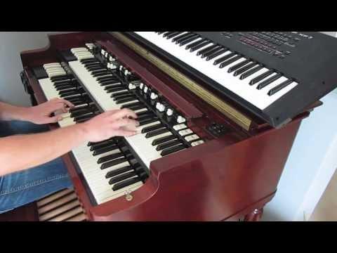 Je t aime mois non plus cover on Hammond B3