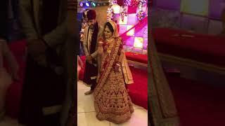 Bride's special wedding dance performance