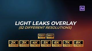 Free Light Leaks 4K (3840x2160)