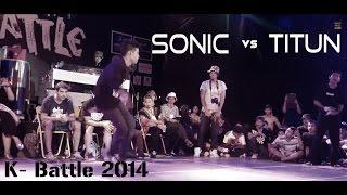 Bboy Sonic vs Bboy Titun | Korat Battle | top 8