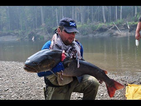как ловить на больших реках
