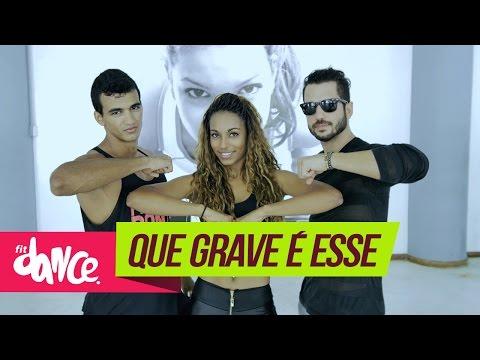 Mc Delano Que Grave É Esse FitDance 4k Coreografia Choreography