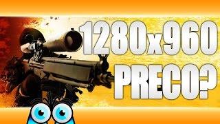 Preco PRO hrači používaju 1280x960 rozlíšenie? [HD 1080p] [SK/CZ]