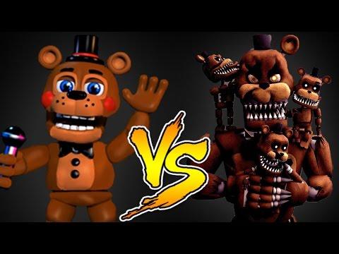 Minecraft - NOOB VS PRO (Freddy Fasbear Challenge Games)